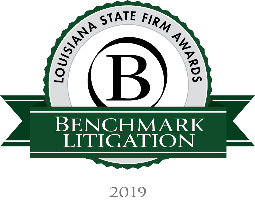 Benchmark Louisiana Firm of the Year 2019