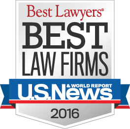 Best Law Firm 2016 Badge
